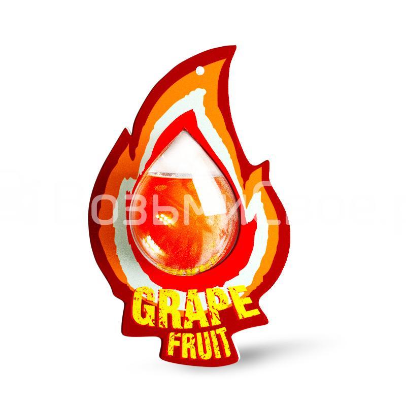 Ароматизатор AVS WDM-046 Fire AQUA (аром. Grape fruit/Грейпфрут) (мембранные)