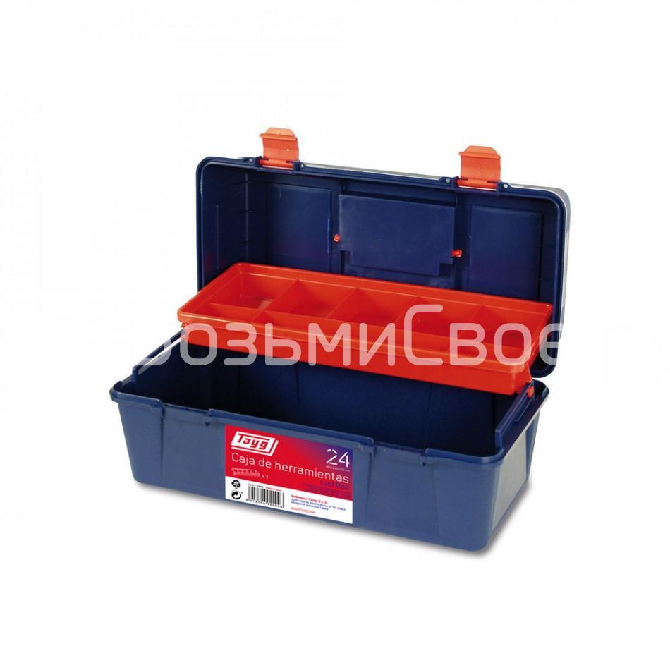 Ящик для инструментов TAYG №24 400х206х188мм с кантилевером