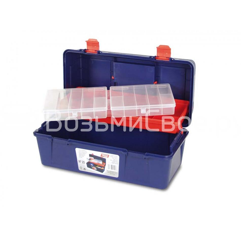 Ящик для инструментов TAYG №25 с кантилевером + органайзер