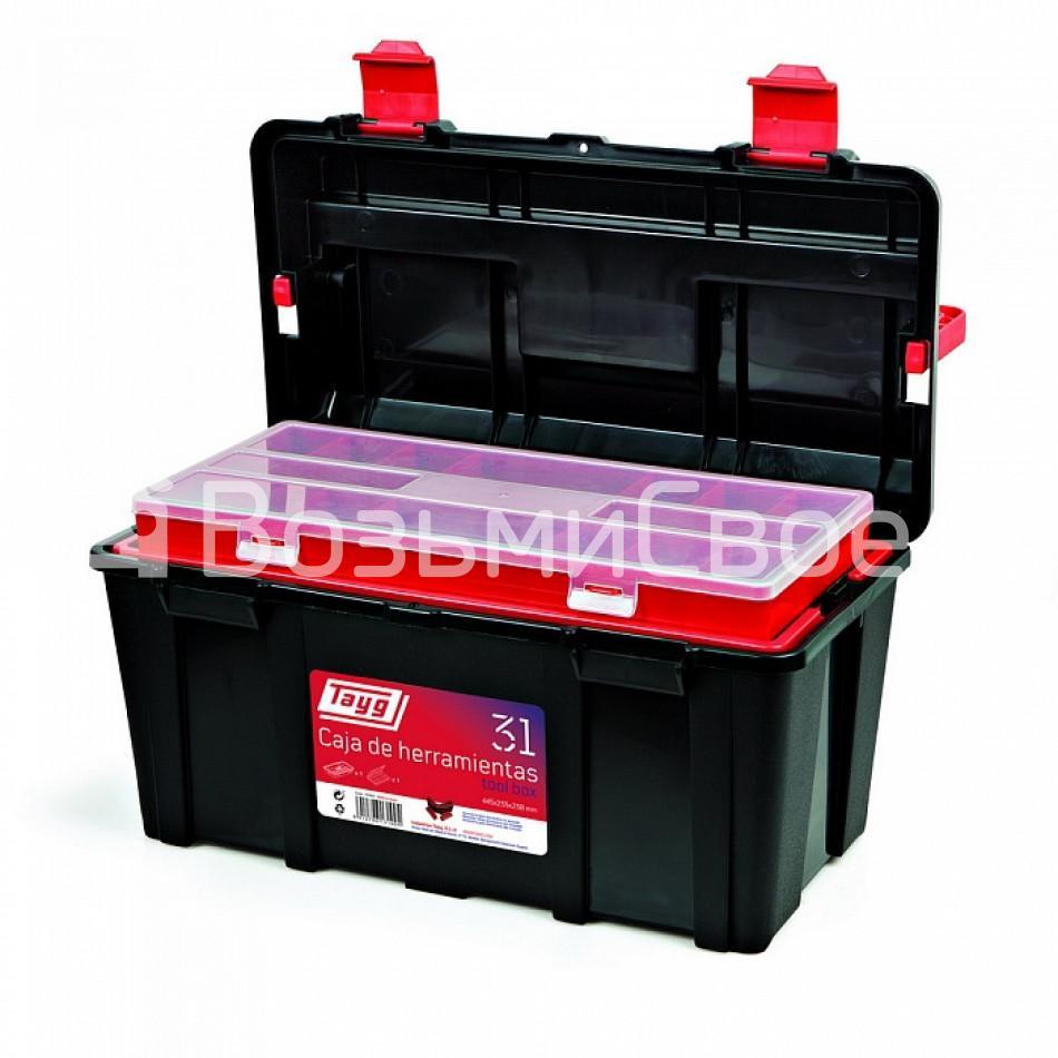 Ящик для инструментов TAYG №31 + лоток + органайзер