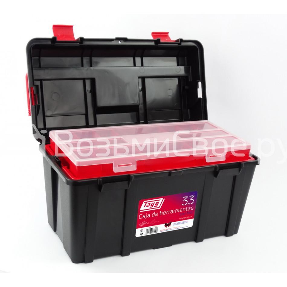 Ящик для инструментов TAYG №33 + лоток + органайзер