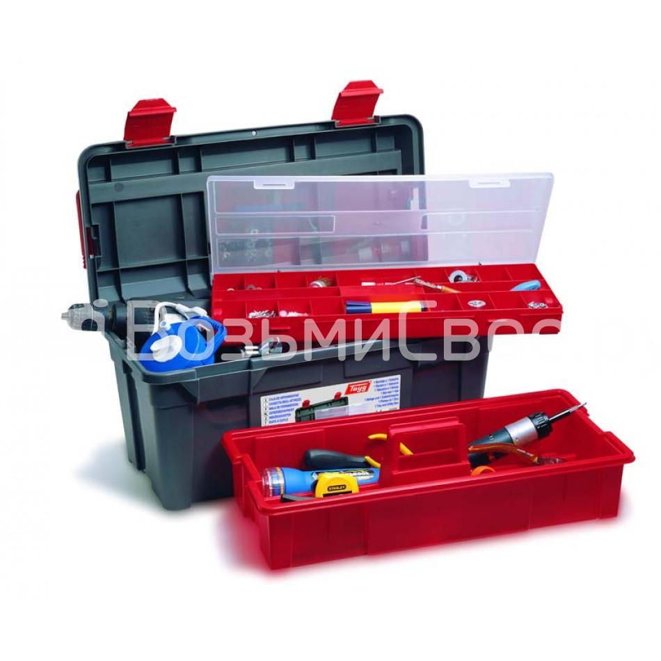 Ящик для инструментов TAYG №36 + глубокий лоток + органайзер.