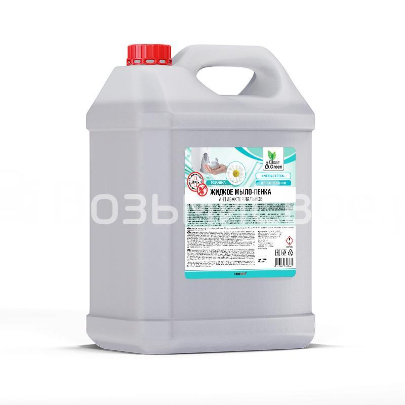Жидкое мыло пенка антибактериальное 5 л. Clean&Green
