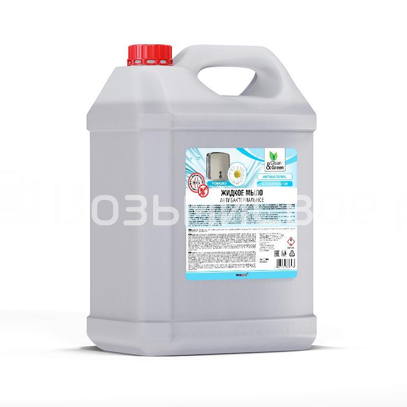 Жидкое мыло антибактериальное 5 л. Clean&Green
