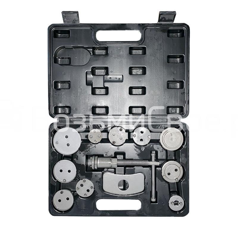 Набор для сведения поршней тормозных цилиндров (12 предметов) в кейсе AVS DBC-04
