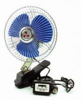 """Вентилятор автомобильный 12В 6 AVS Comfort 8043 (корпус: металл, серебристый)"""""""