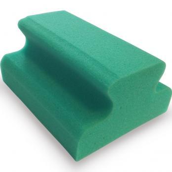 Губка поролоновая AVS SP-04 (рельса) в вакуумной упаковке (166х130x77мм)