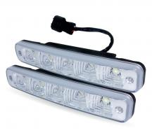 Дневные ходовые огни (DRL) AVS DL-5 (5W, 5 светодиодов х 2 шт.)