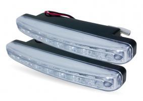 Дневные ходовые огни (DRL) AVS DL-8S (2,4W, 8 светодиодов х 2 шт.)