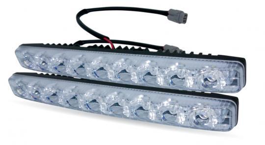 Дневные ходовые огни (DRL) AVS DL-9A (9W, 9 светодиодов х 2 шт.)