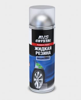 Жидкая резина Прозрачная 650 мл (аэрозоль) AVS AVK-303